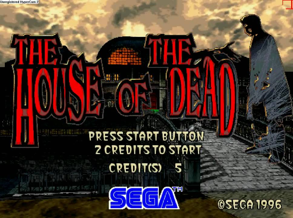 Game bắn ma, The House of the Dead 1