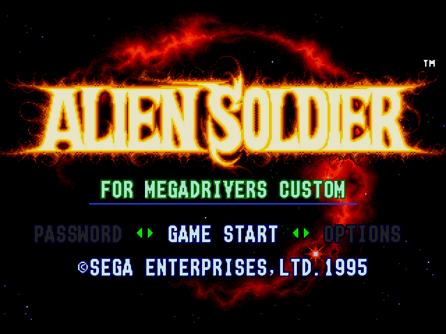 [FS] Download game Game Alien Soldier cho PC