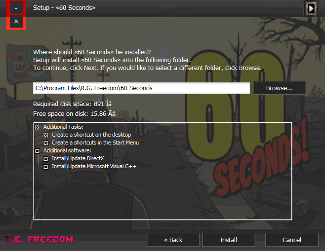 install game 60 seconds